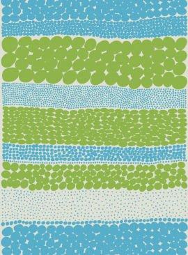 Marimekko fabric - exuberant Finnish textile design since