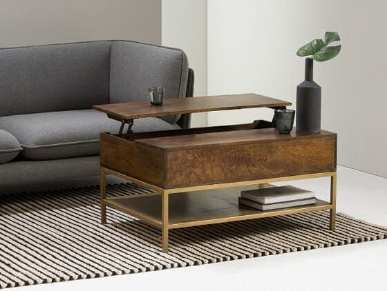 Good Top 10 Coffee Tables With Storage For Small Spaces Colourful