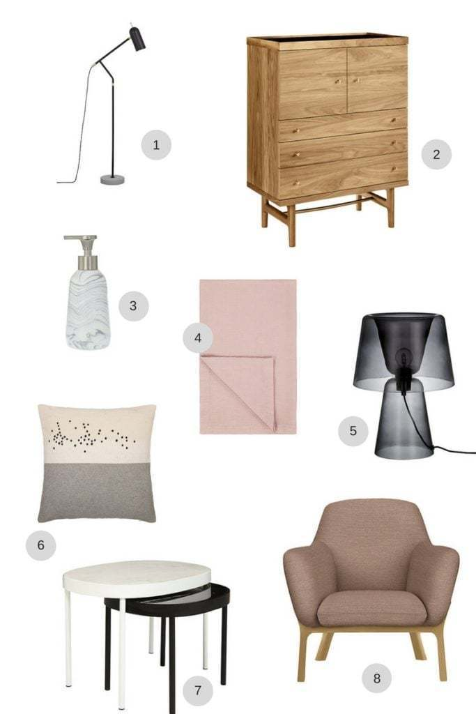 Contemporary furniture and home accessores from the John Lewis Design Project