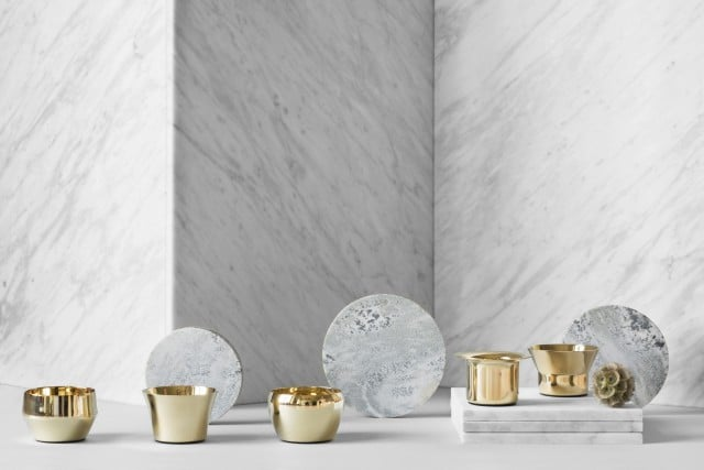 Skultuna brass candle holders - the Kin Collection