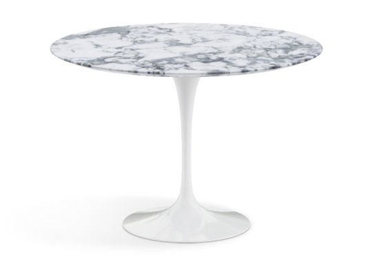 Saarinen Pedestal Dining Table in marble from the Conran Shop