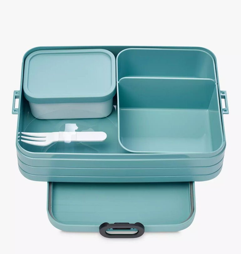 Mepal Large Bento Lunch Box in Nordic Blue from John Lewis & Partners