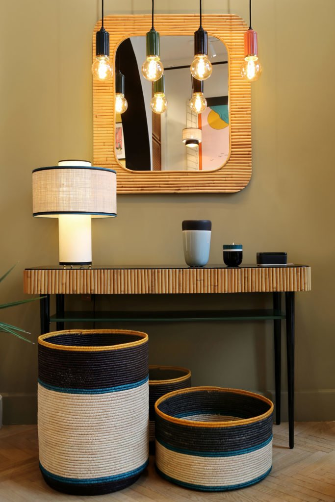 Riviera Console Table with storage by Maison Sarah Lavoine