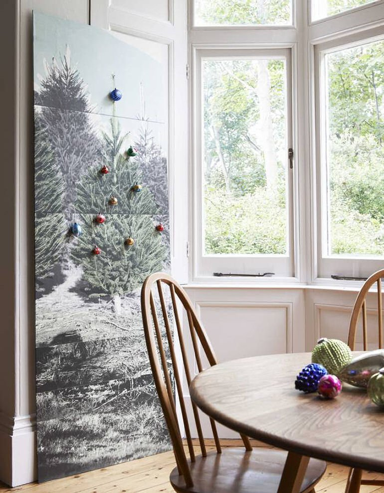 Alternative Christmas Tree: Not Just for Xmas Wallpaper Panel