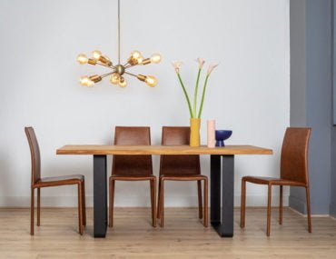 Heal's Designed by You tables, Prague oak dining table