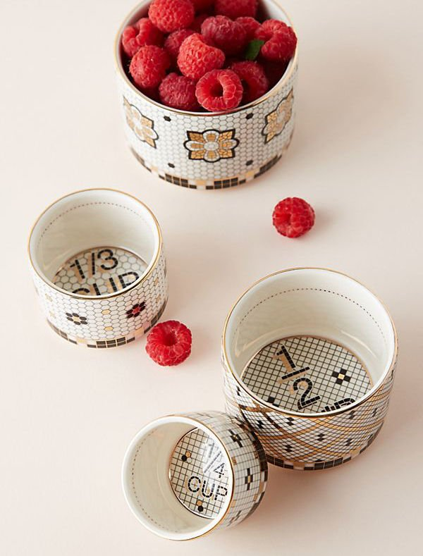 Anthropologie Bistro Collection measuring cups