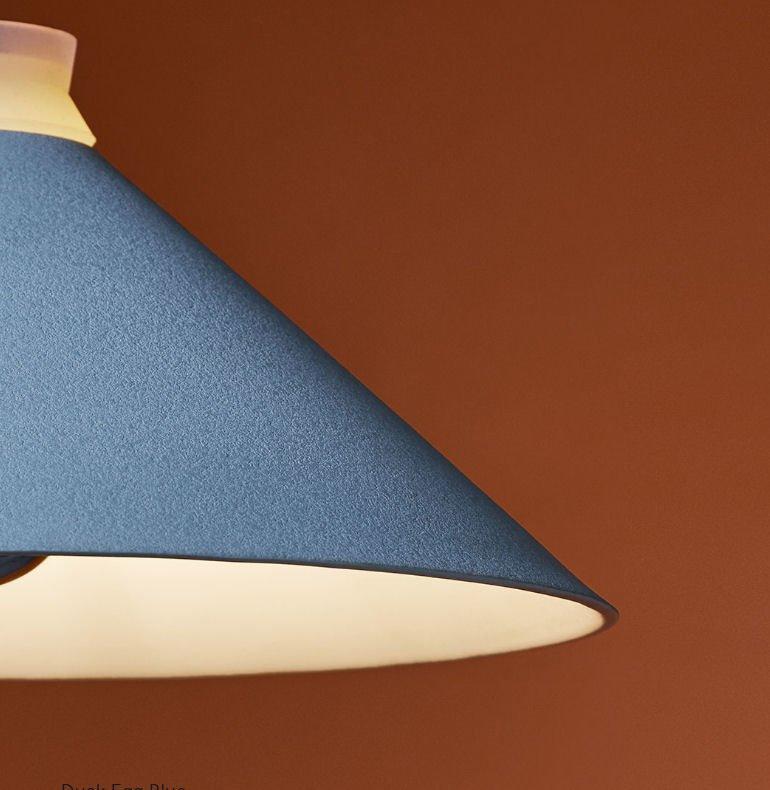 Fuji Colour ceramic pendant light