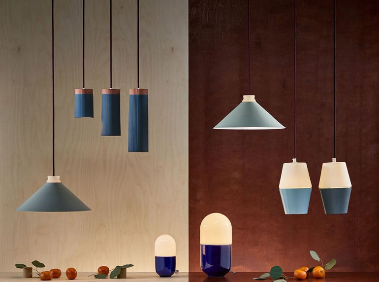 Contemporary lighting collection by Hand & Eye Studio