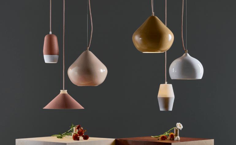 Contemporary pendant lights by Hand & Eye Studio