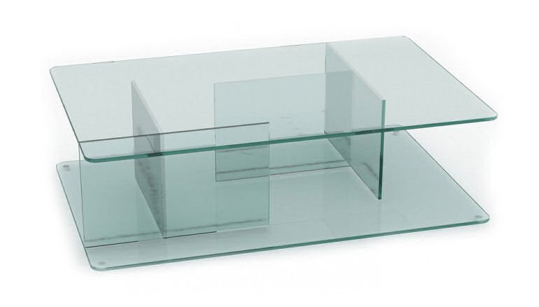 Case Lucent Coffee Table in clear glass