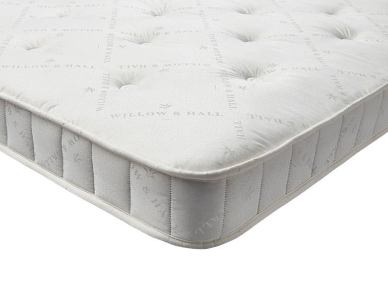 Willow & Hall sofabed open sprung mattress
