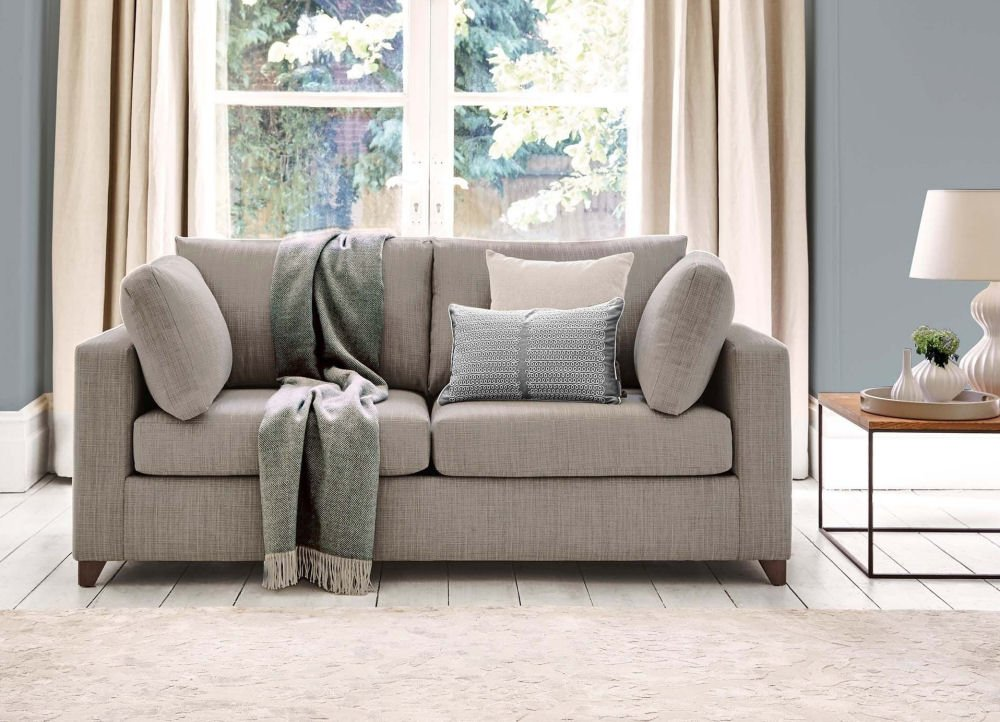 Willow & Hall small 2-seater sofa bed for small spaces