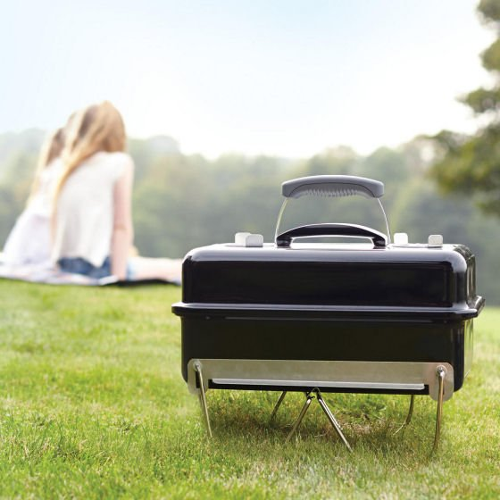 John Lewis Weber portable BBQ