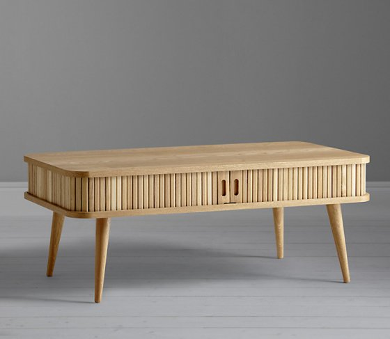 John Lewis Grayson ash coffee table with storage for small spaces