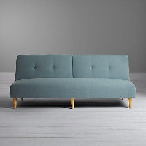 John Lewis Clapton Sofa Bed in Teal fabric
