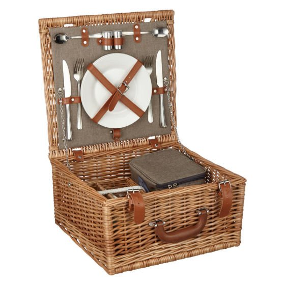 John Lewis Croft Collection Picnic Hamper for two people