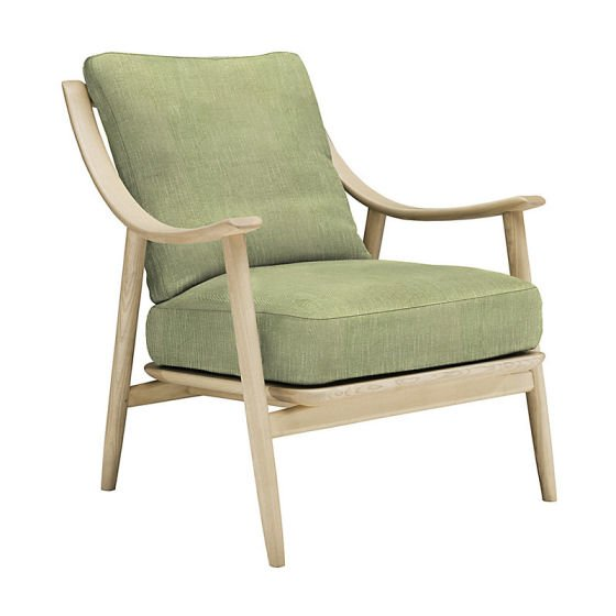 Ercol Marino armchair in green