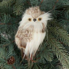John Lewis Christmas tree decoration - Fluffy Owl