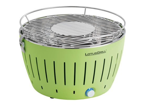 John Lewis LotusGrill portable barbeque in green