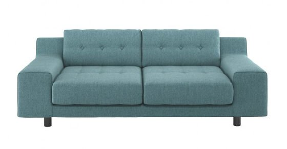 Habitat Hendricks Teal Blue Sofa