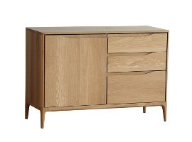 Ercol Romana Small Sideboard in American White Oak