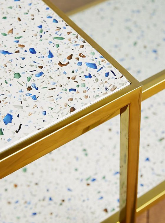 Framed Terrazzo Coffee Tables, Anthropologie