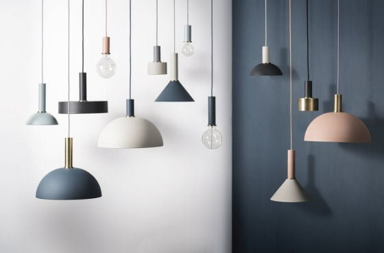Collect Lighting contemporary pendant lights by Ferm Living