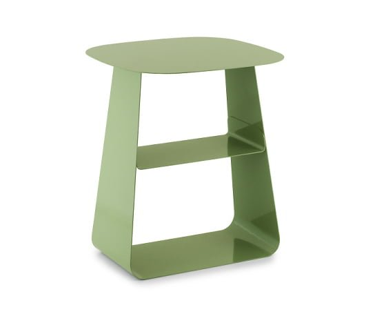 Normann Copenhagen Stay side table with storage in green