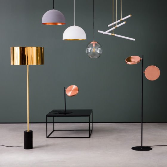 Habitat contemporary lighting range