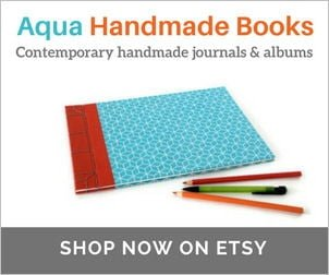 Handmade Japanese stab bound A4 journal or sketchbook on Etsy