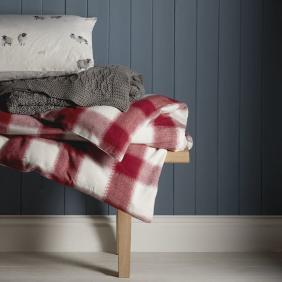 John Lewis home textiles for a cosy Christmas