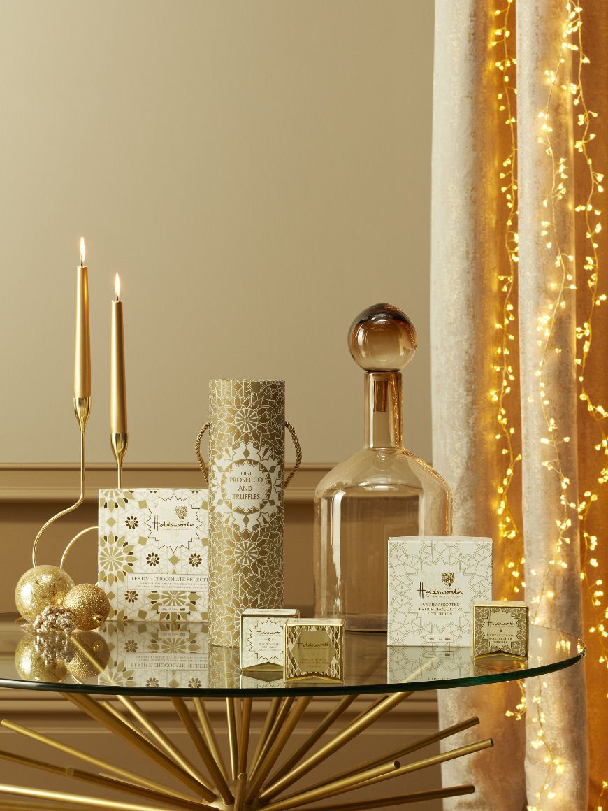 Gold Christmas decor and gifts from John Lewis & Partners