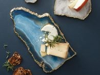 Anthropologie Agate Cheese Boards