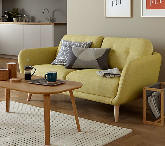Slimline contemporary Arlo Sofa for small spaces from John lewis & Partners