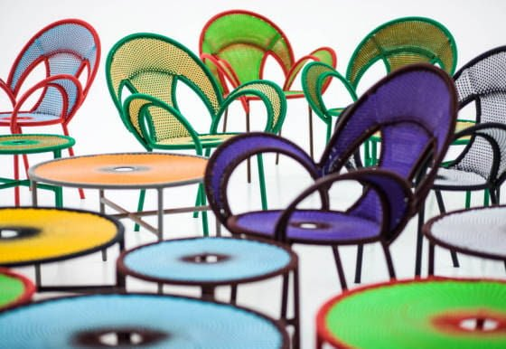 Moroso Banjooli colourful outdoor furniture
