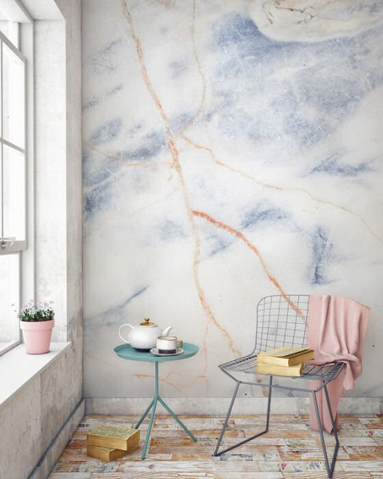 Custom printed marbled wallpaper from murals wallpaper for Custom mural wallpaper uk