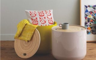 Blyth contemporary side tables with storage