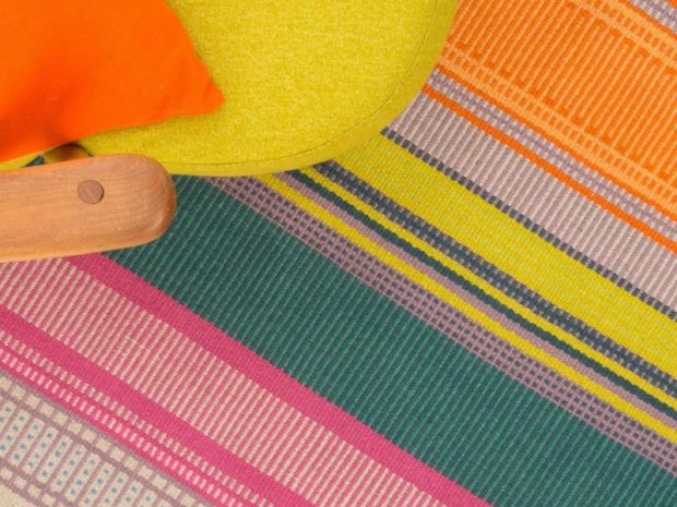 Angie Parker Handwoven Eco-Rug Bodacious