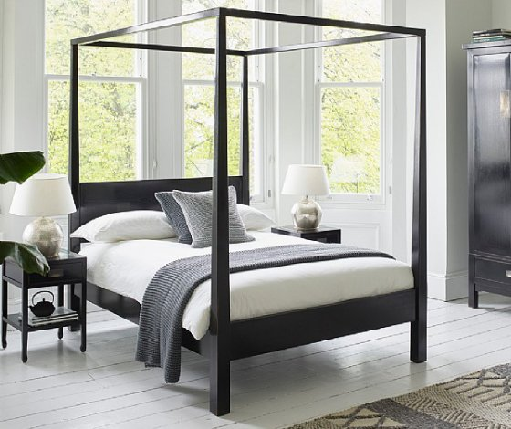 Contemporary Four Poster Bed top 10: contemporary wooden beds • colourful beautiful things