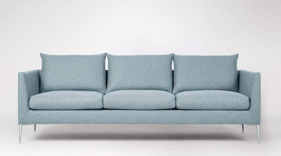 Swoon Editions sofa in sky blue
