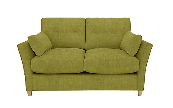Chopin Small Pocket Sprung Sofa Bed in green