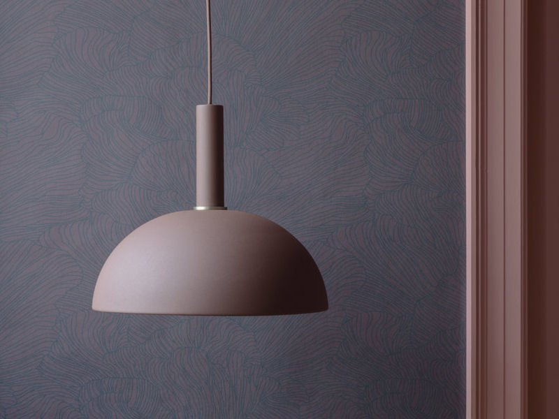 Collect Living by Ferm Living in brass and rose