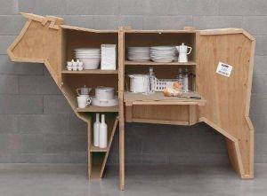 Cow Cabinet Sidebar