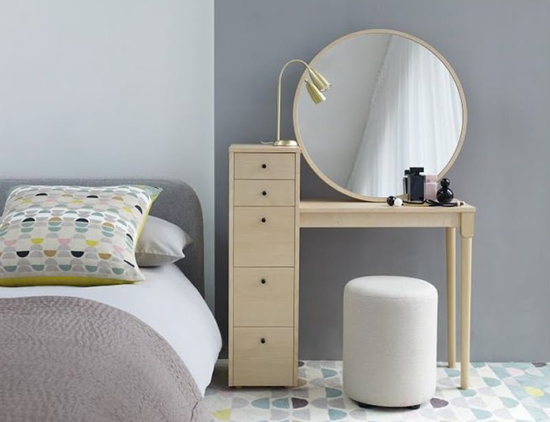 Habitat 39 s emil dressing table small and perfectly formed colourful beautiful things - Furniture for small spaces uk model ...
