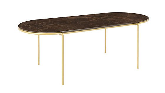 Esempio marble effect coffee table in brown from John Lewis