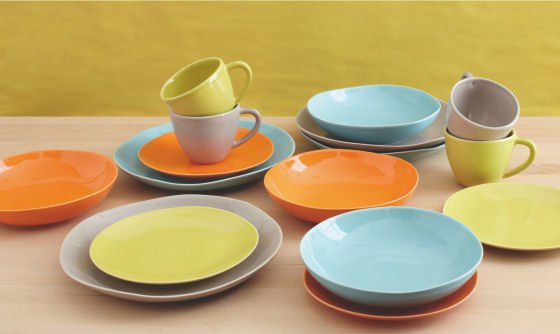 Estrella New Hand Dipped Colourful Tableware From & Tableware Co Uk - Castrophotos