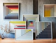 Margo Selby handwoven textile artworks