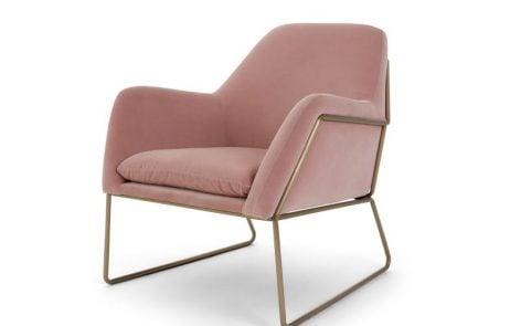 Frame Velvet Armchair feature