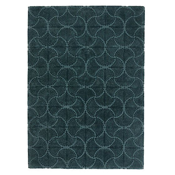 Deco Palm Rug by Genevieve Bennet for John Lewis