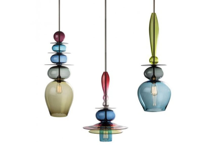 Top 10: coloured glass pendant lights for contemporary spaces - Colourful  Beautiful Things